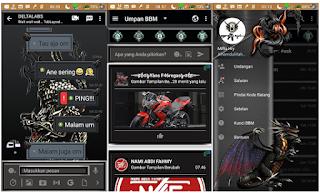 BBM MOD Darkness Dragon Apk v3.2.0.6 Full Transparan ekyud Mod Terbaru 2017