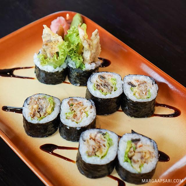 Scorpion Roll Sushi Nobu (Shabu Nobu)