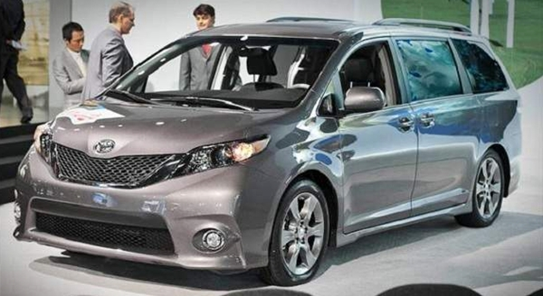 2017 Toyota Sienna Redesign Review Price Release Date
