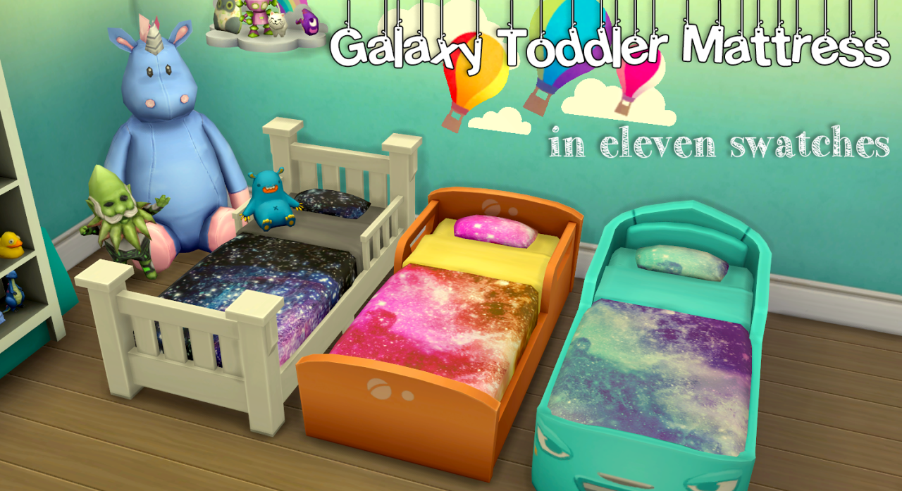 My Sims 4 Blog Galaxy Toddler Mattress Recolors By