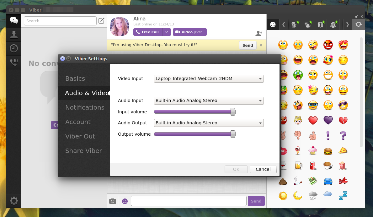 Viber 4 2 For Linux Available For Download ~ Web Upd8