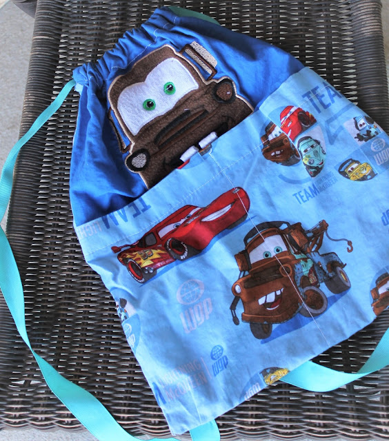 How the Make a Drawstring Backpack + Free Pattern