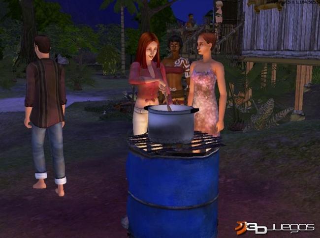Los Sims Historias de Naufragos PC Full Español