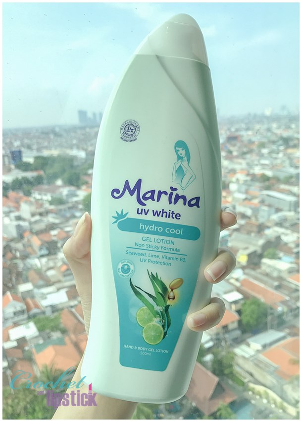 Review Lotion Pencerah Marina UV White Hydro Cool