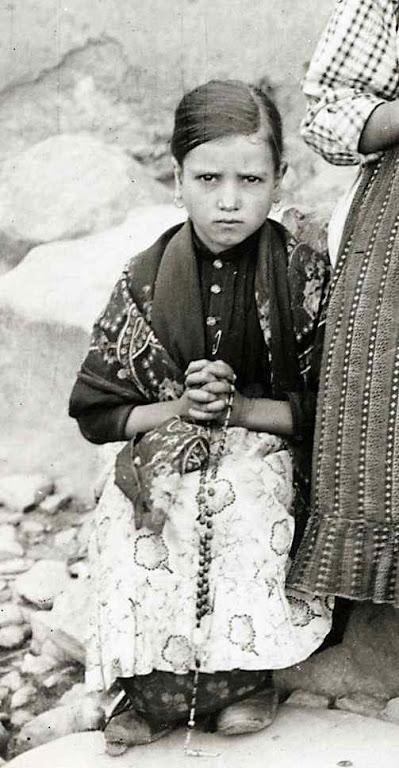 Santa Jacinta Marto, na Reixida, Cortes, 17-09-1917