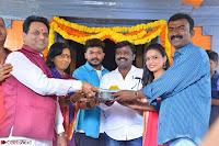 Bhimbika in Red Orange Saree at Sikhandi Movie Launch Spicy Pics 10.jpg