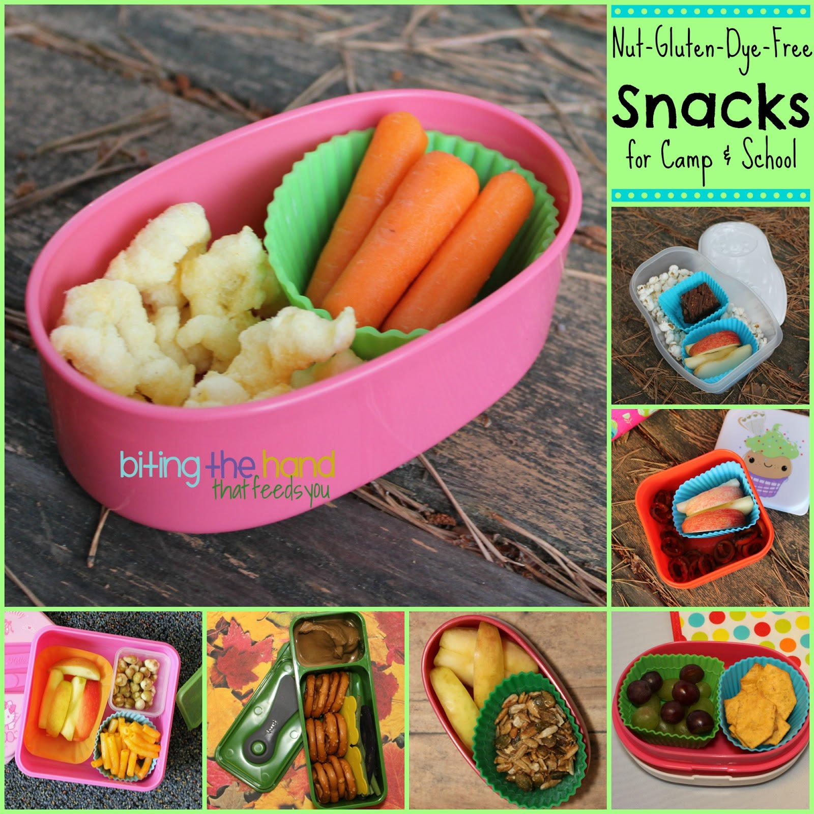 Biting The Hand That Feeds You: Summer And School Snacks