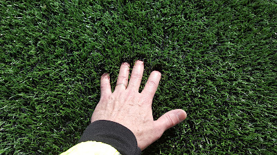 the new artificial turf field at FHS has good softness with its new infill although it is  crumb rubber and is controversial