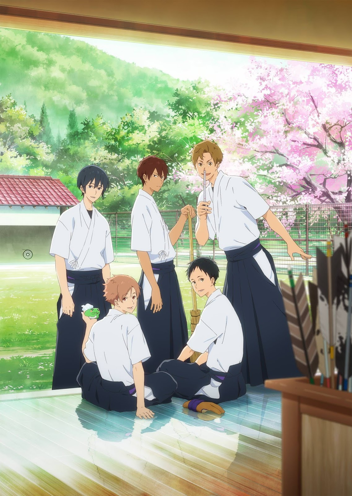 El 5º BD / DVD del anime Tsurune incluirá un capitulo extra