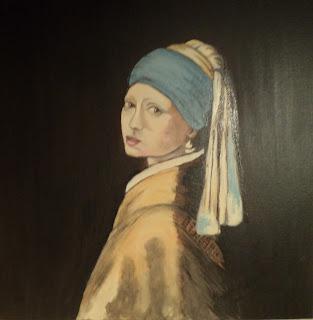 Γιοχάνες Βερμέερ Κορίτσι με το μαργαριταρένιο Σκουλαρίκι