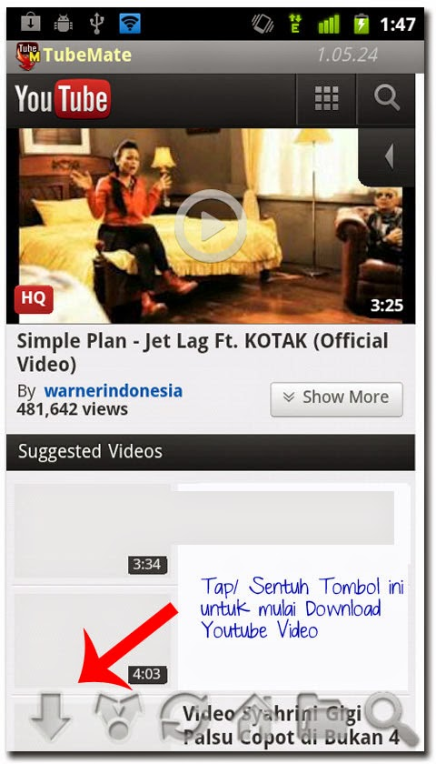 cara mudah download video youtube di android - sampingan-onlinebro-blogspot-com