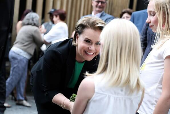 Grand Duke Henri and Grand Duchess Maria Teresa visited Bourscheid in connection with celebrations of National Day 2019