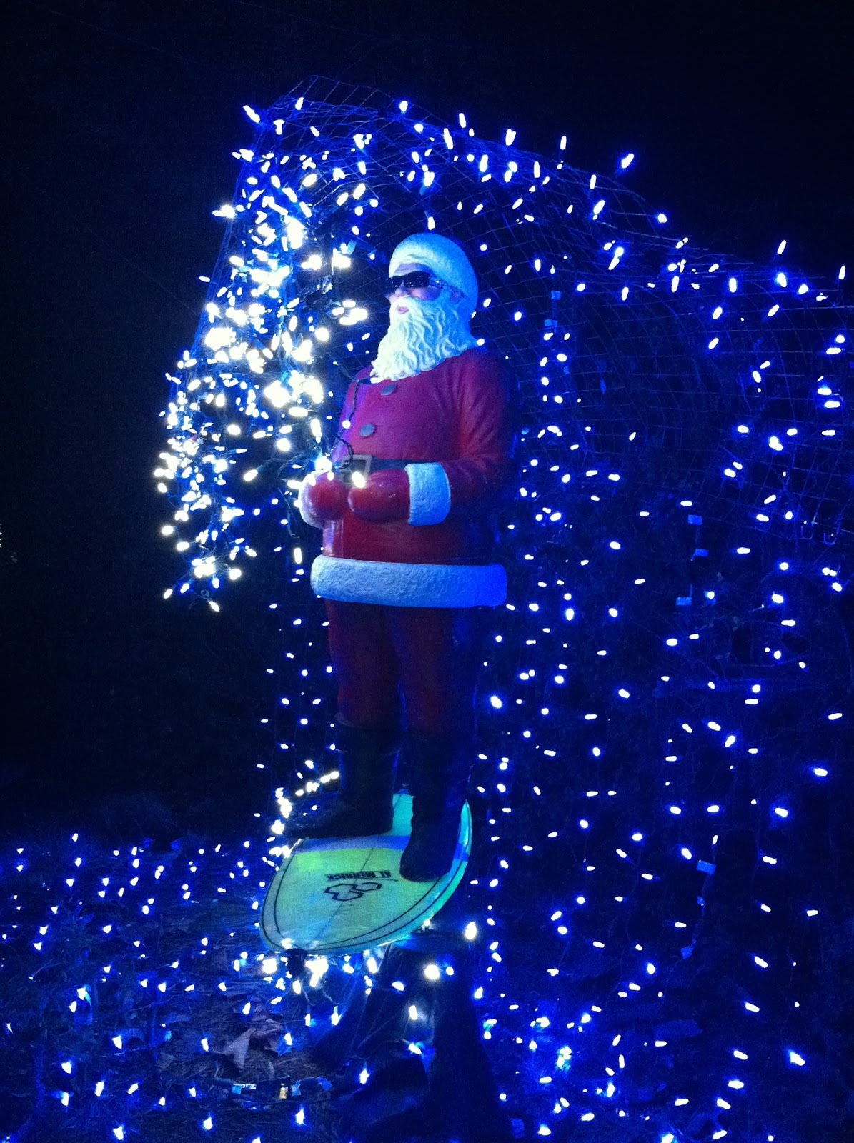 Christmas Light Show Los Angeles