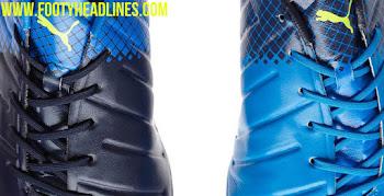 75ba4b143 Stunning Electric Blue / Lemonade Puma evoPOWER 1.3 Tricks Boots Leaked ·  Puma will soon release ...
