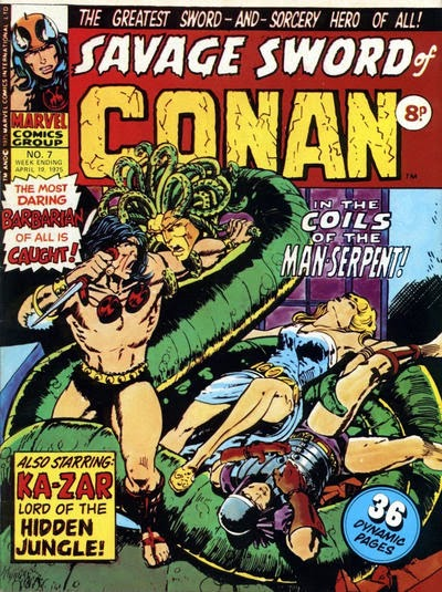 Marvel UK, Savage Sword of Conan #7