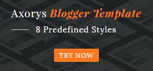 axorys responsive blogger template
