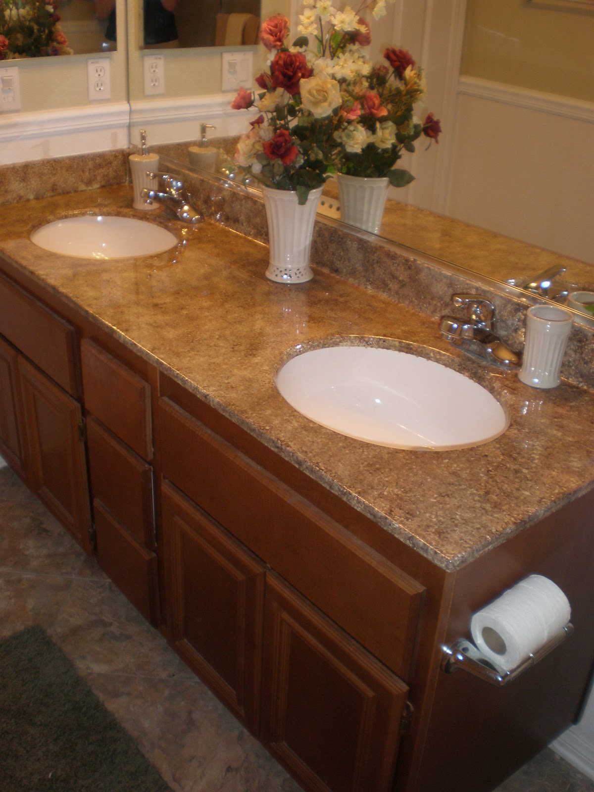 Wild Whitney S Faux Granite Countertop For Less Than 25