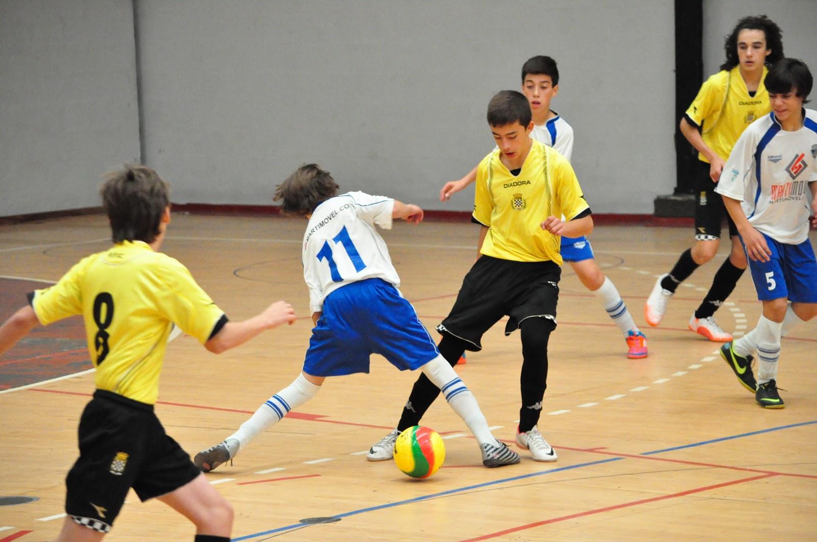 Futsal Iniciados - Declaração ao jogo com o Escolas Arreigada ... 36c12acb6958f
