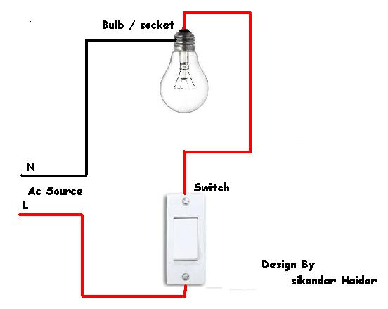 how to do wiring a light switch