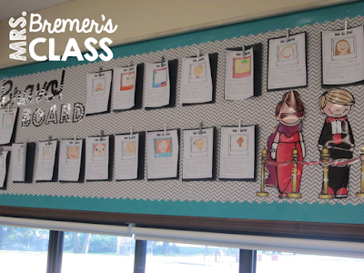 Selfies! an All About Me craftivity perfect for the beginning of the school year. #backtoschool #allaboutme #1stgrade #2ndgrade #bulletinboards #classroomsetup