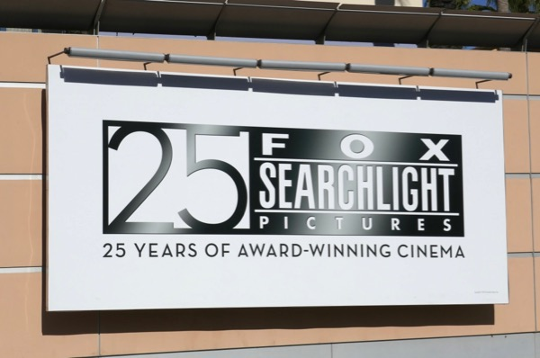 25 years Fox Searchlight Pictures billboard