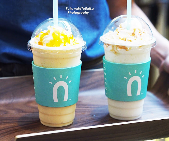 Shakes  O'My Mango &   O'My Coconut (From Left To Right) RM 9.90