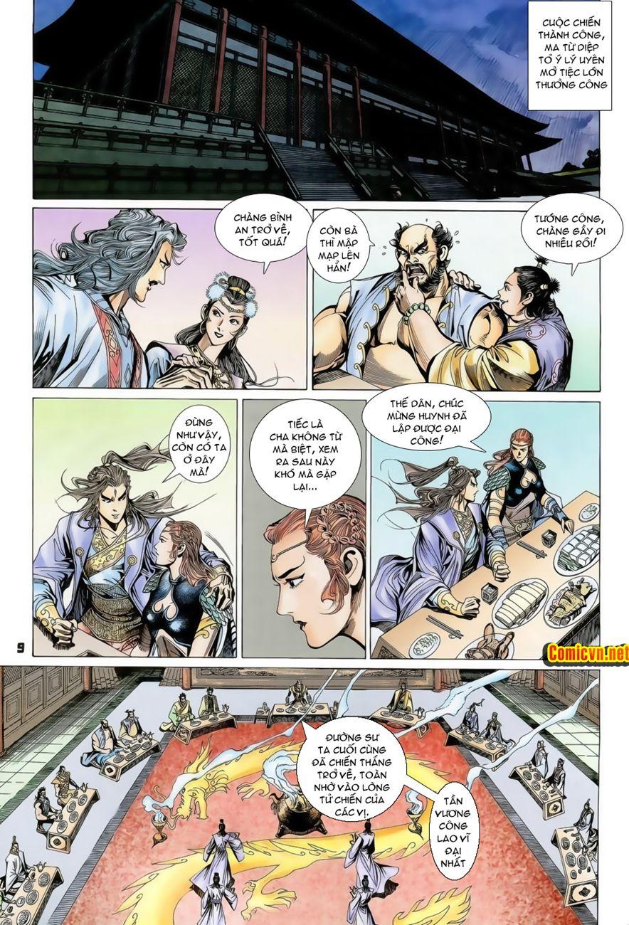 Đại Đường Uy Long chapter 74 trang 9