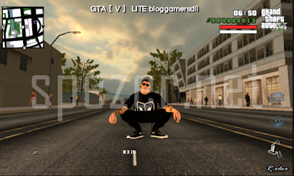 Download GTA SA Mod GTA V lite Apk + Data Android Bahasa Indonesia