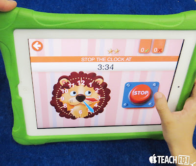 Best FREE telling time apps & activities for kids to use on the iPad. Teachers, make learning to tell time fun in your classroom by adding a technology twist! Also check out these engaging QR code activities for your math centers.
