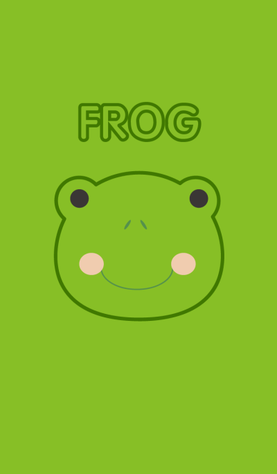 Simple Cute Frog theme Vr.2