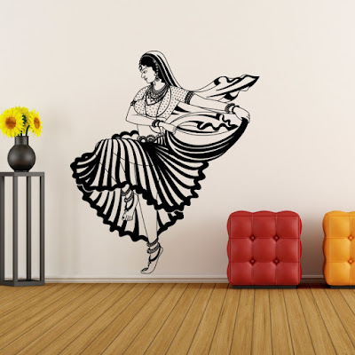 Mastani wall decal