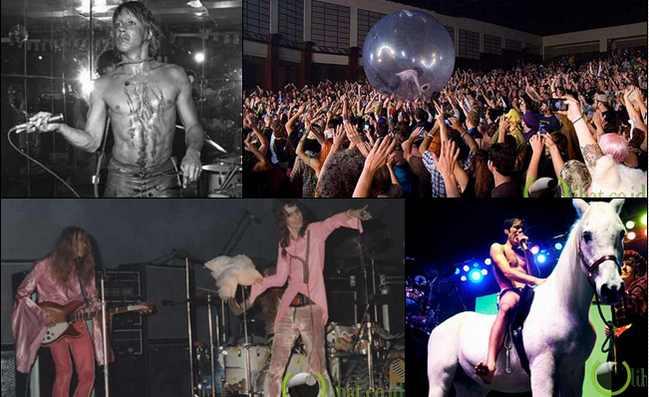 7 Musisi Rock dengan Aksi panggung bikin Geleng-geleng Kepala