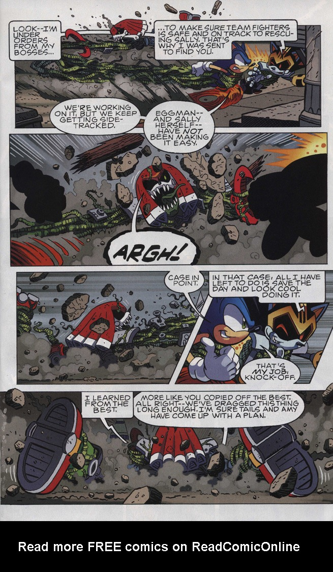Read online Sonic The Hedgehog comic -  Issue #246 - 15