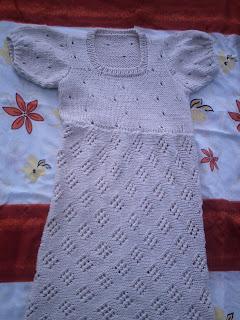 bc24a2eb9 ATELIÊ ALDINÉIA ALMEIDA: Vestido de tricô adulto. Prontoo!!
