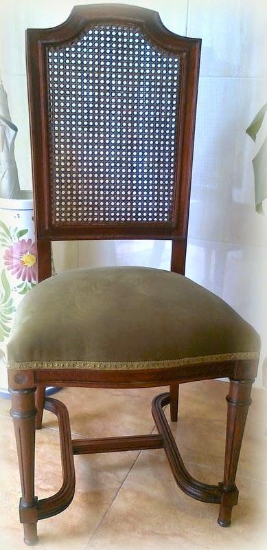 El desv n de los trastucos restaurar y tapizar una silla - Tapizar una silla ...