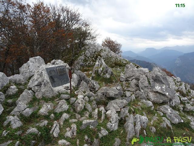 Cima del Pico La Xamoca