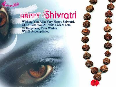 Latest unique happy Shivaratri Pic with quote