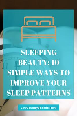 The Low Country Socialite, Plus Size Blogger, Savannah Ga, Improving sleep