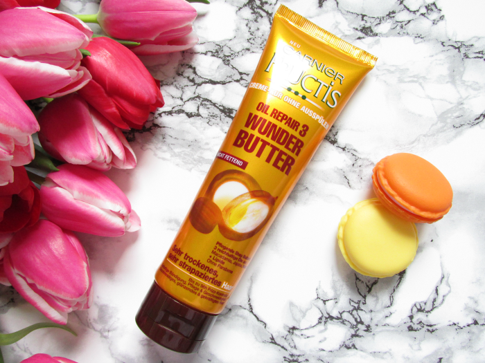 Review: Garnier FRUCTIS Oil Repair 3 - Wunder Butter - Creme-Kur ohne Ausspülen - 150ml - 4,95 Euro