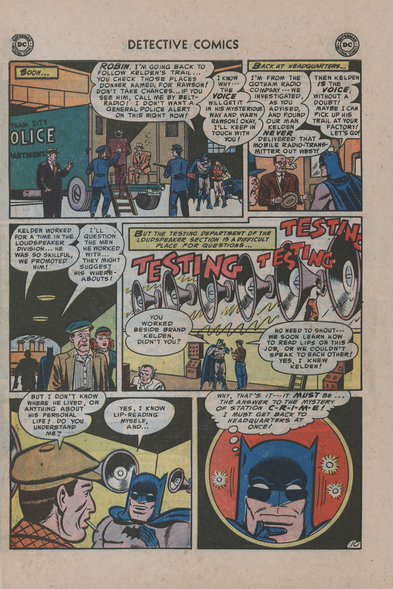 Read online Detective Comics (1937) comic -  Issue #200 - 13