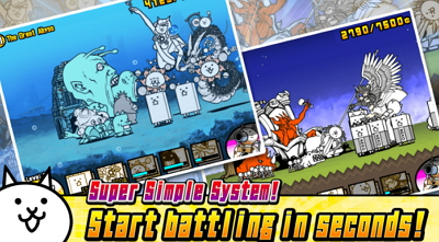 The Battle Cats Unlimited Cat Food APK MOD