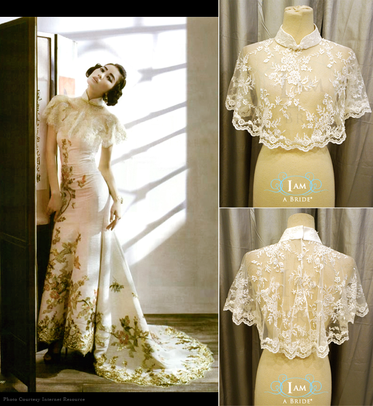 Wedding Gown Cover Ups: Personalise Bridal Wedding Gown Online