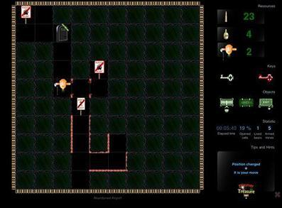 Game Discover The Treasure Lite (iOS): Pertualangan Labirin