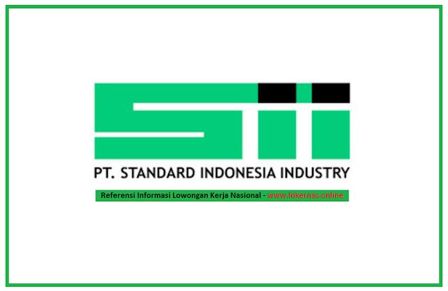 Lowongan Kerja PT Standard Indonesia Industry Bagian Operator Produksi (Lulusan SMA/SMK/Setara)