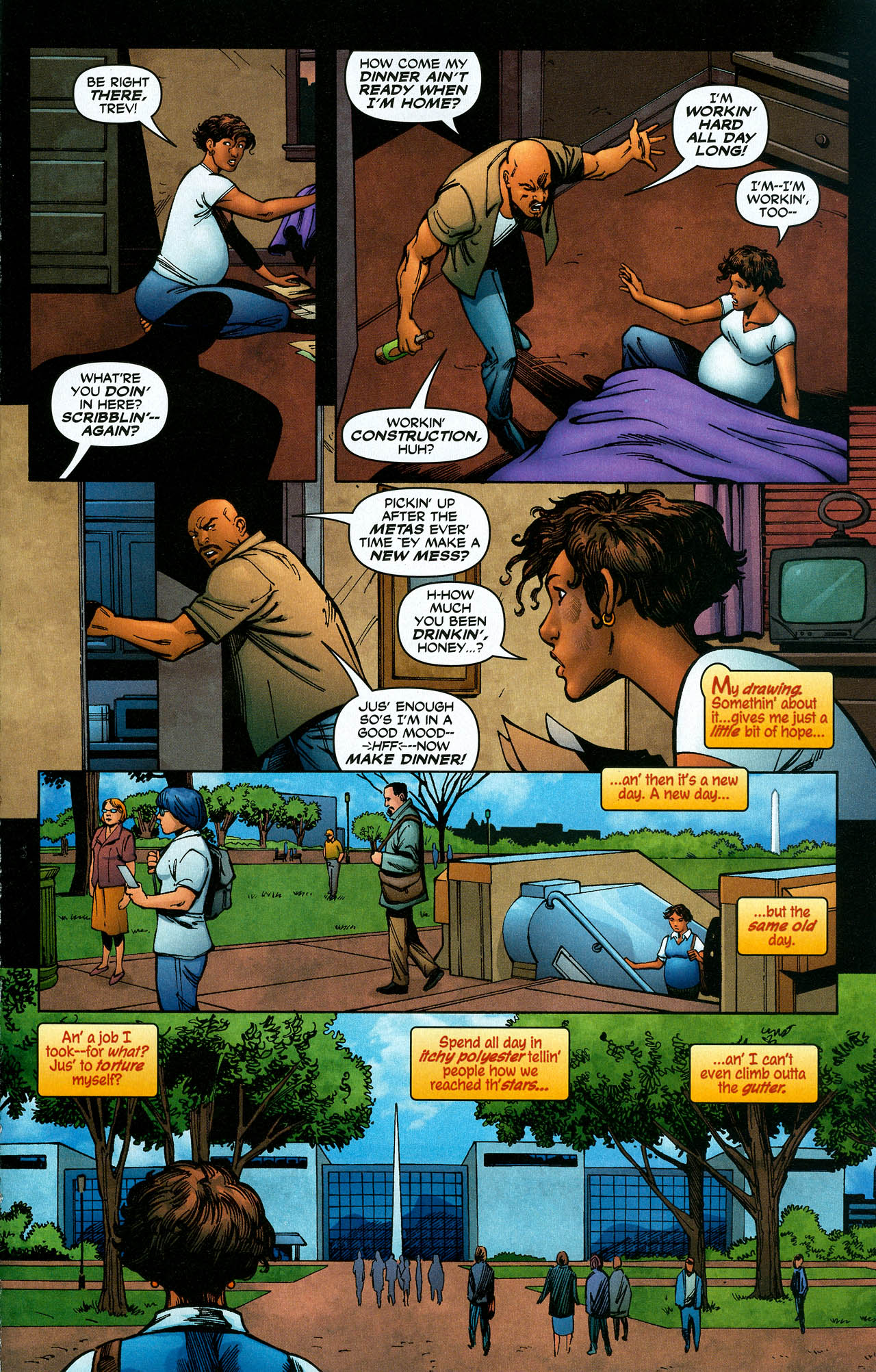 Read online Trinity (2008) comic -  Issue #19 - 21