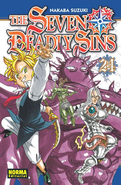 "Reseña de ""SEVEN DEADLY SINS"" vol. 24 de Suzuki Nakaba - Norma Editorial"