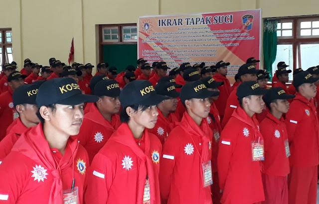 Satu Komando, Ratusan Kader Tapak Suci Ikuti Diklat Kosegu