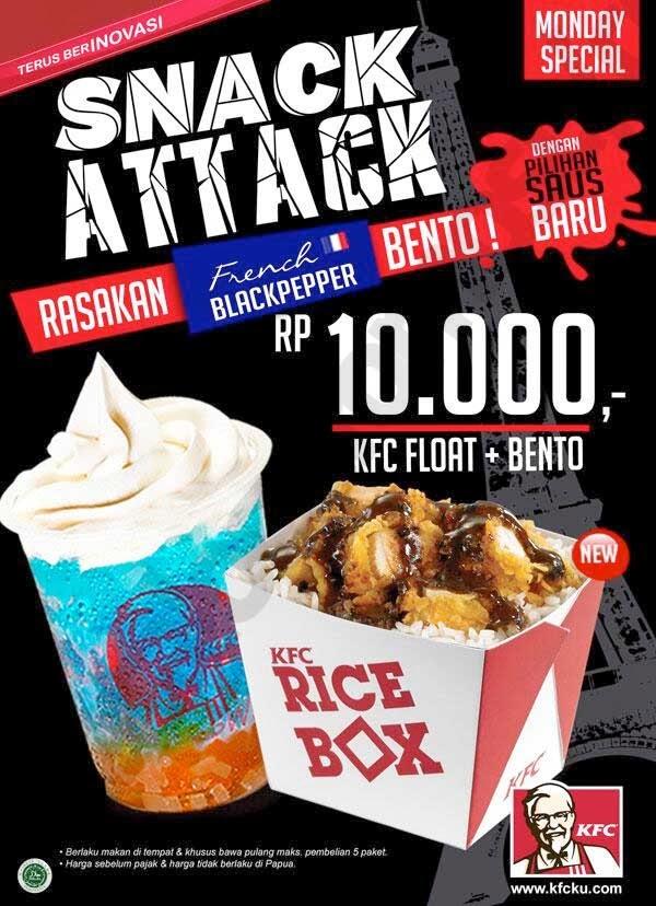Manu KFC paket Super Besar | Rahadi Teguh Prasetyo