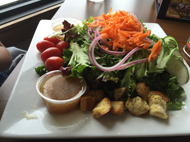 Salad at Reefpoint Brewhouse in Racine, Wisconsin