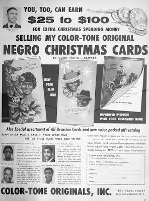 Color-Tone Originals - Negro Christmas Cards
